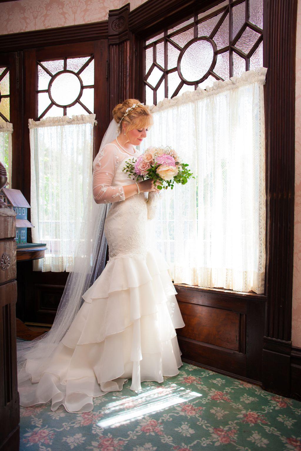 Wedding at Edward Mansion, Redlands