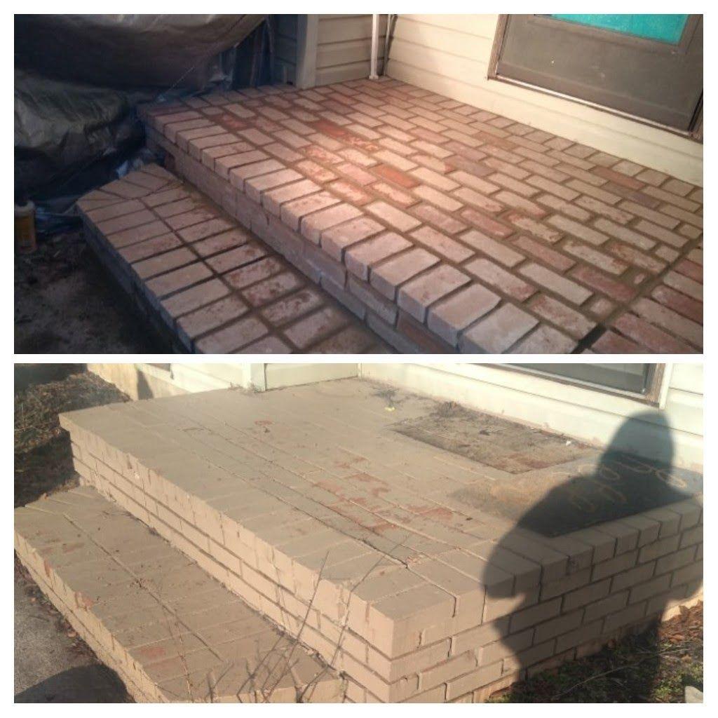 Brick Porch Remove &Rebuild