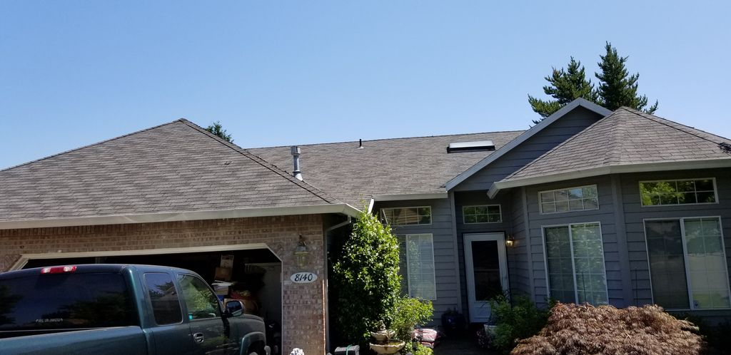 2 layer tear off, new plywood, smart vents, 50 year roof