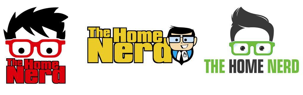 The Home Nerd Logo Design