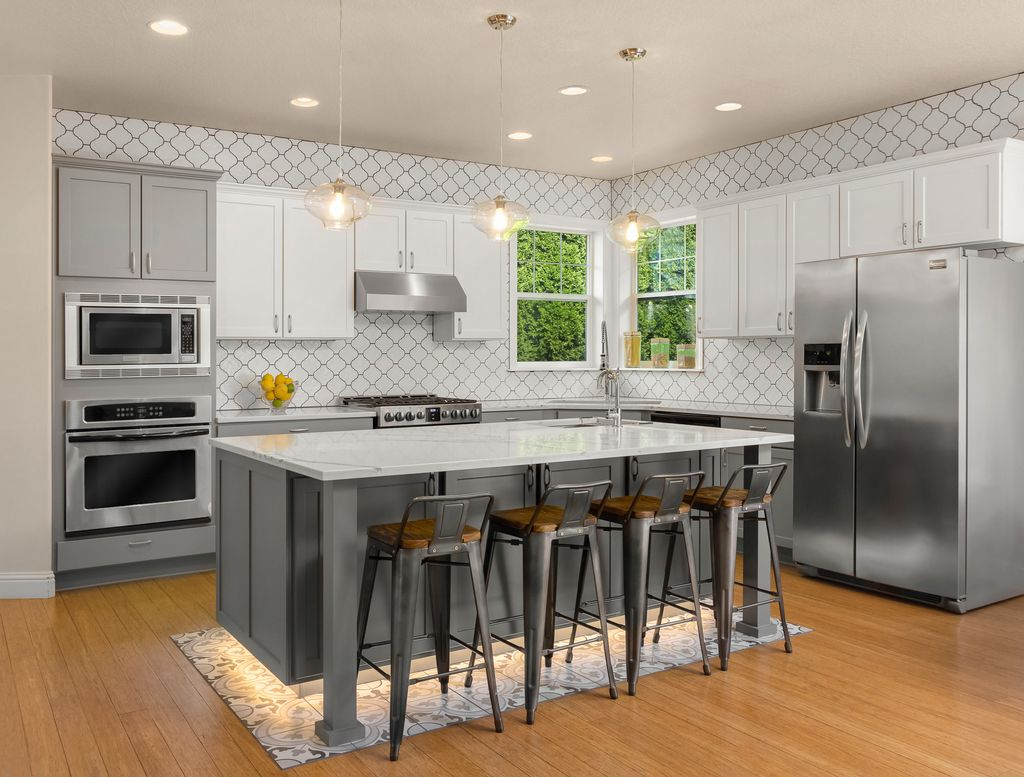 Fresh and Classic Kitchen Renovation