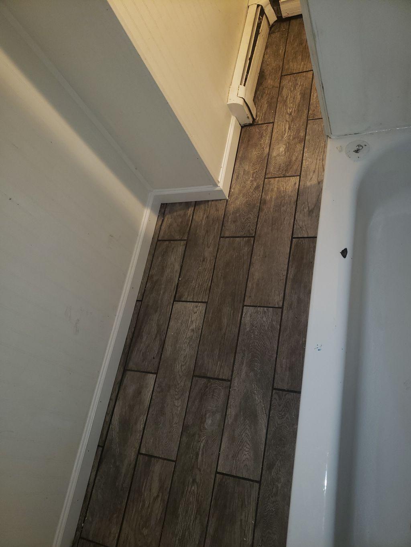 Bathroom Floor Repair and Replacement