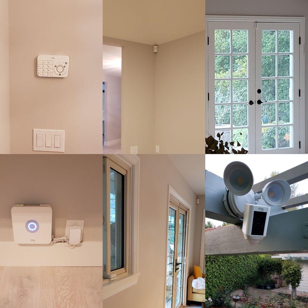 Ring Alarm and Camera install