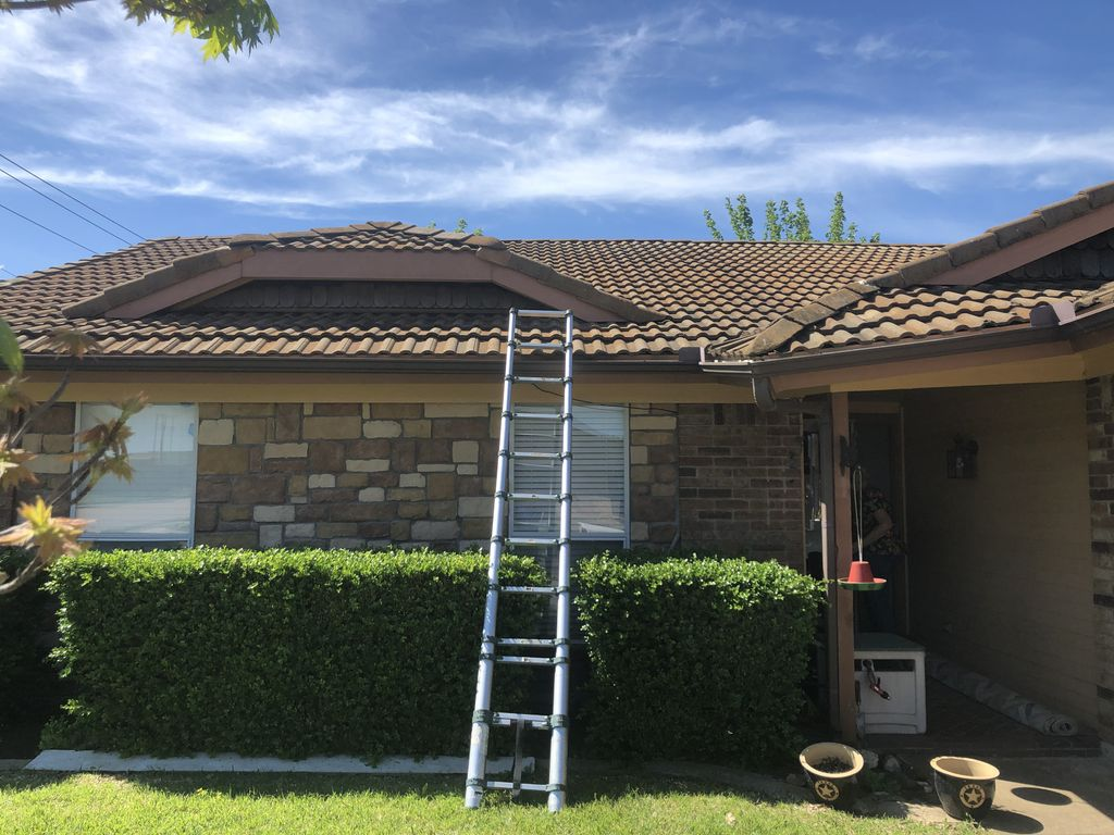 Remove tile roof and install shingled roof