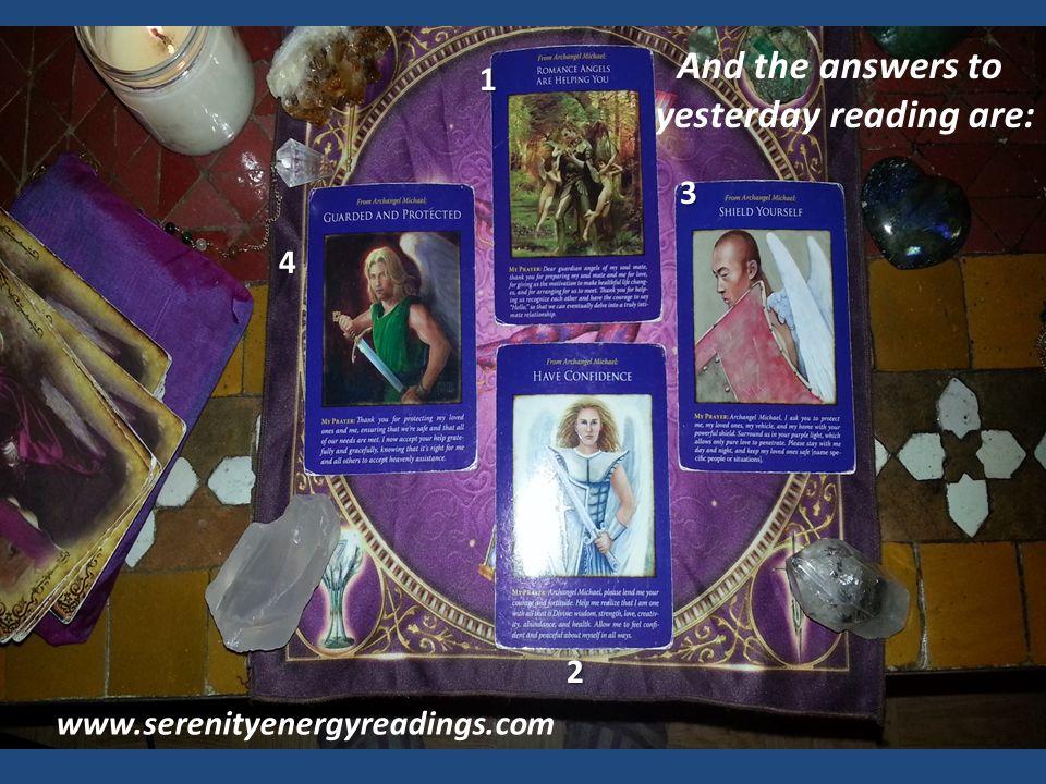 Serenity Healing Angel Oracle Readings