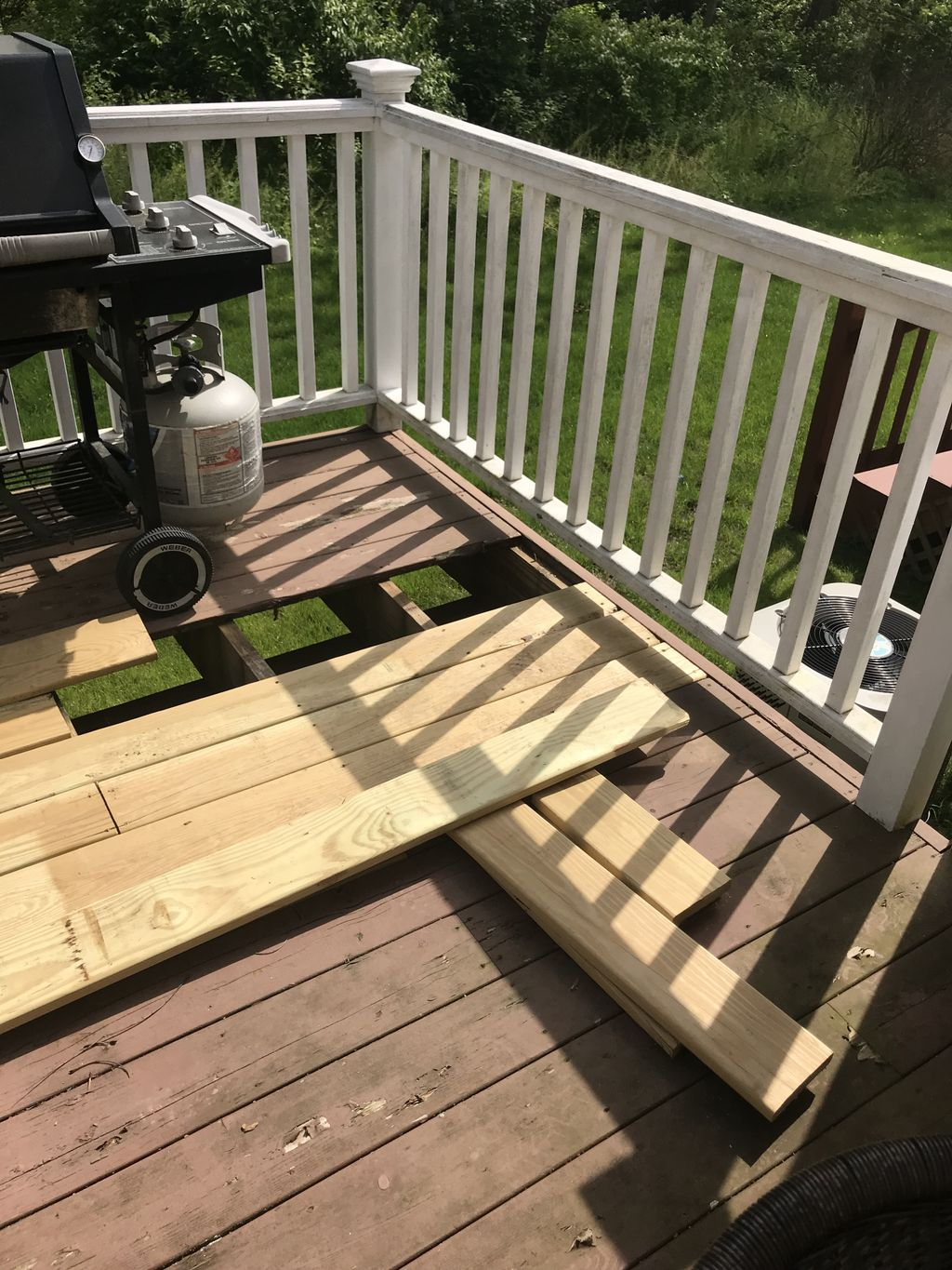 Deck repairs and restoration