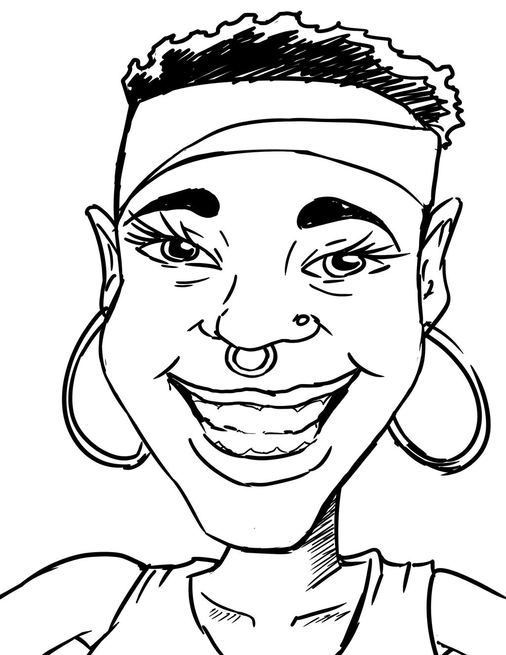 A few caricatures