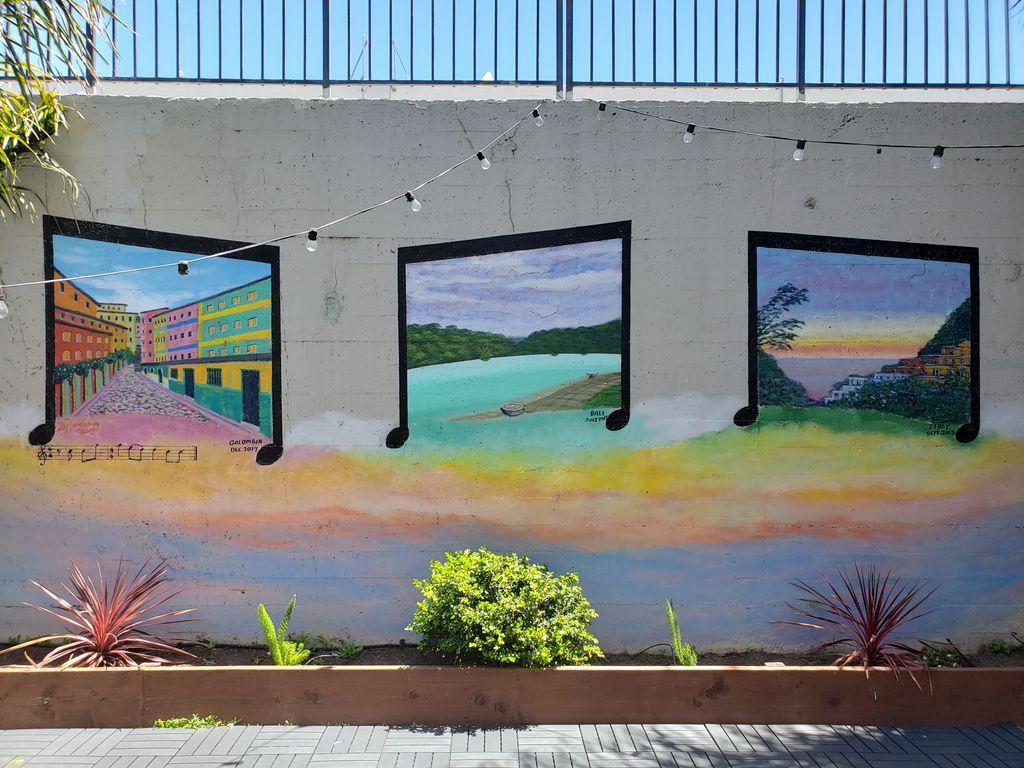 Multi-panel Mural 25ft x 10ft