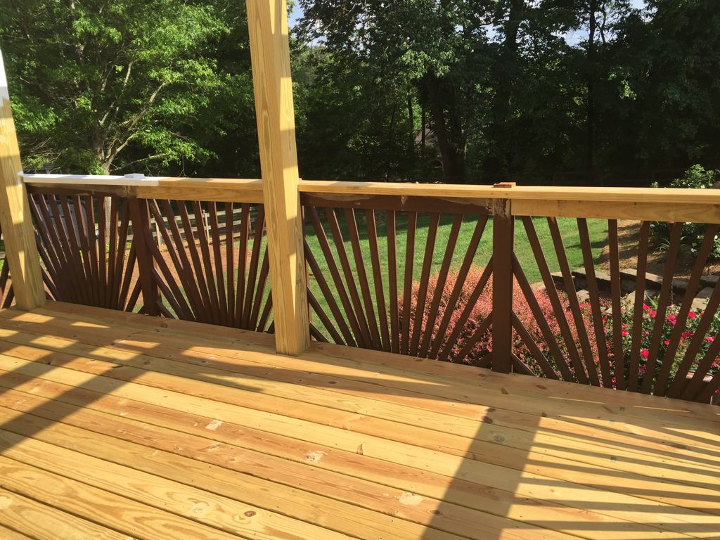cozy deck, pergola and gazebo