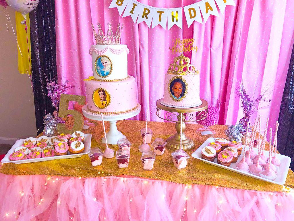Disney Princesses Theme Birthday