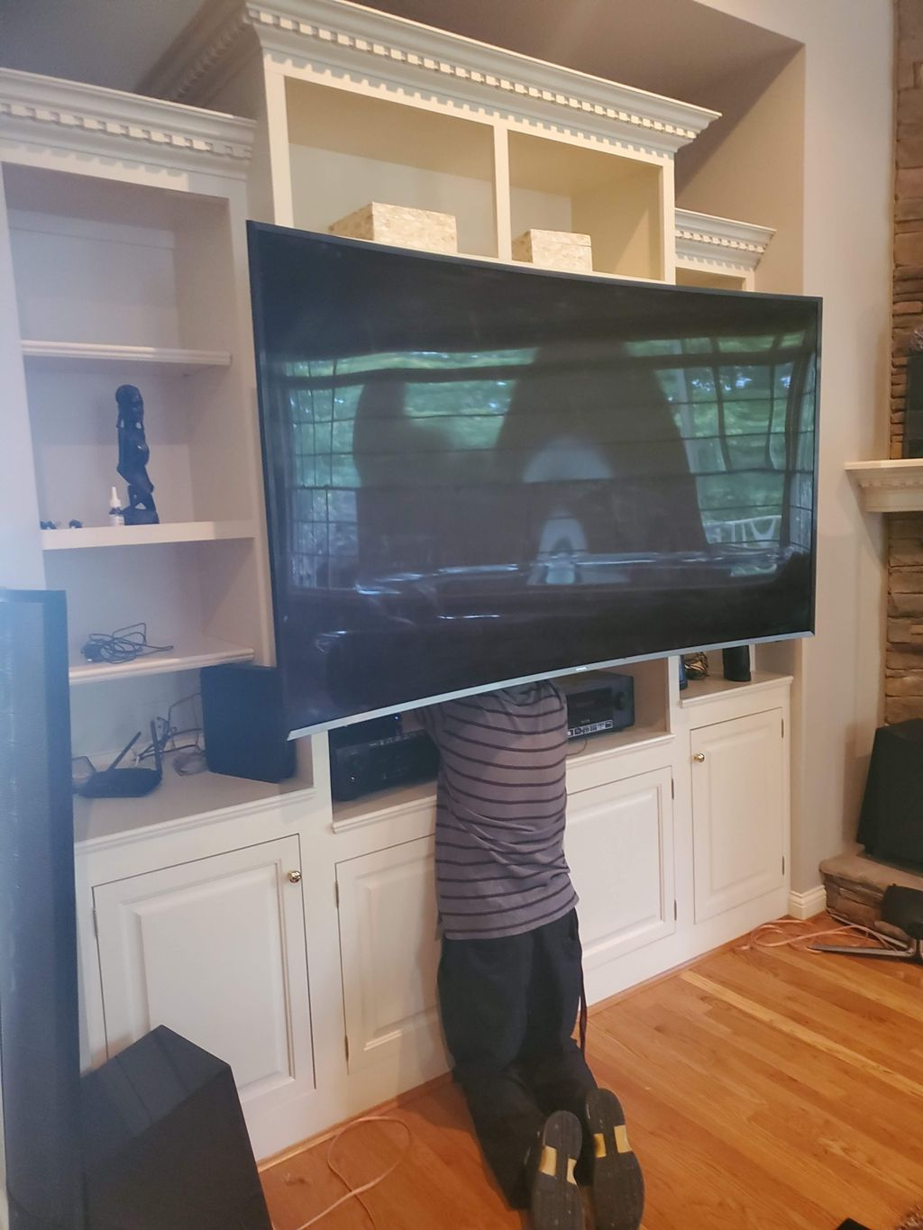 Floating TV