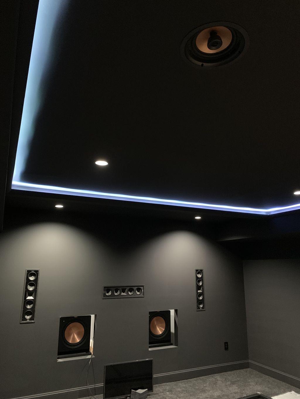Dedicated theater room