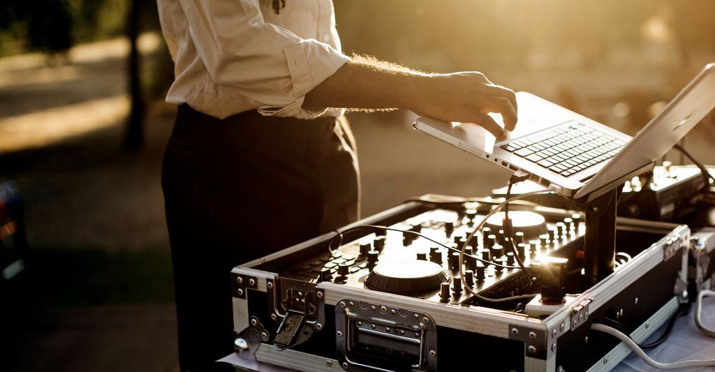A DJ in San Bruno, CA