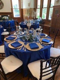 Blue & Gold Wedding Planning & Decor