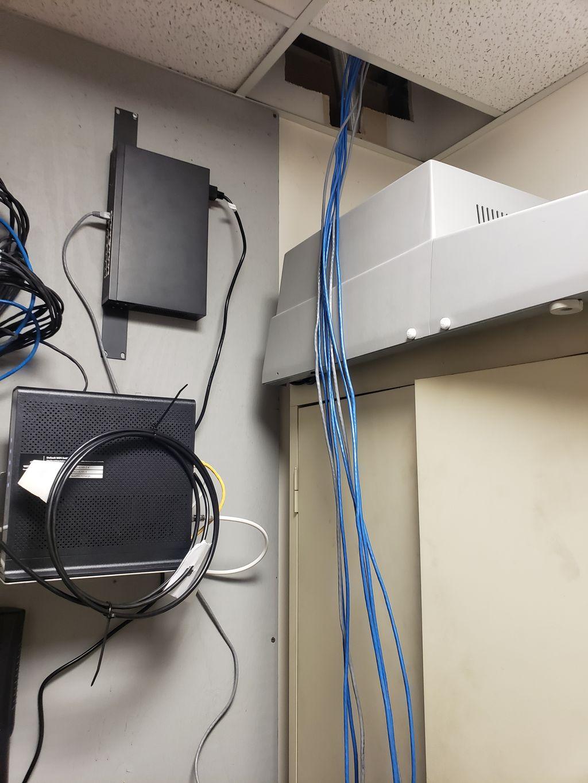 Wireless to Hard wired installation