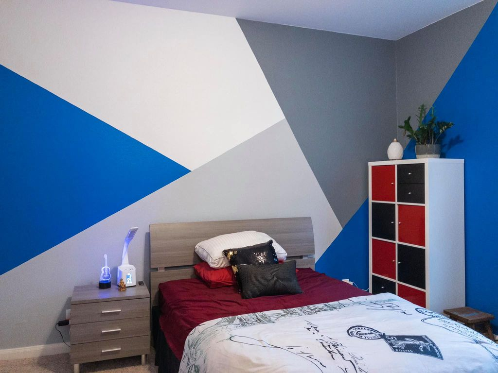 Bedroom Re-design & Accent Wall