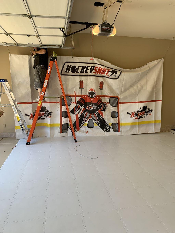 Hockey Shot Assembly