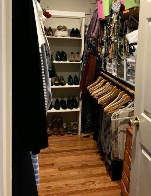 Wardrobe Organizing done right