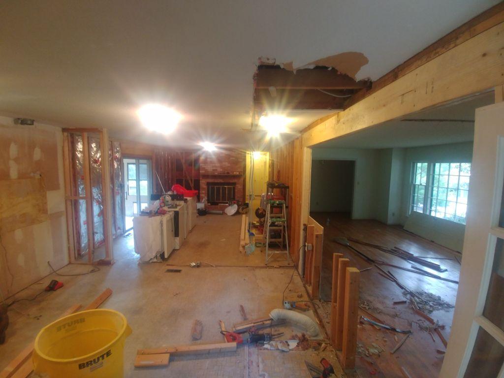 Custom kitchen & Home Remodel