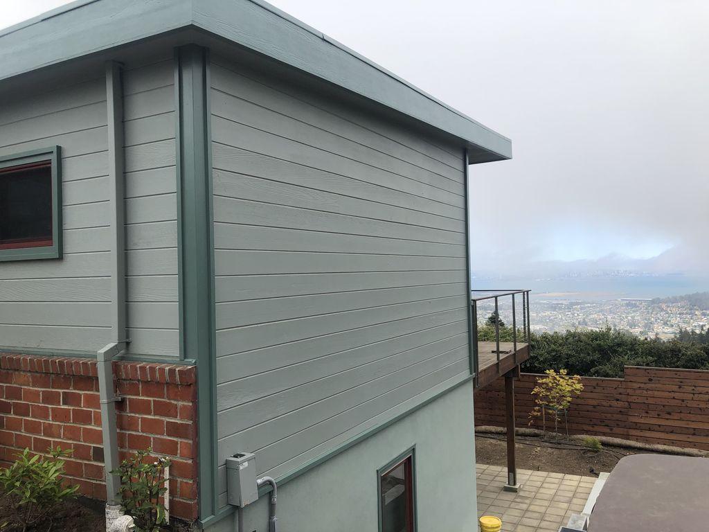 Kensington painting and tile project  Berkley hills