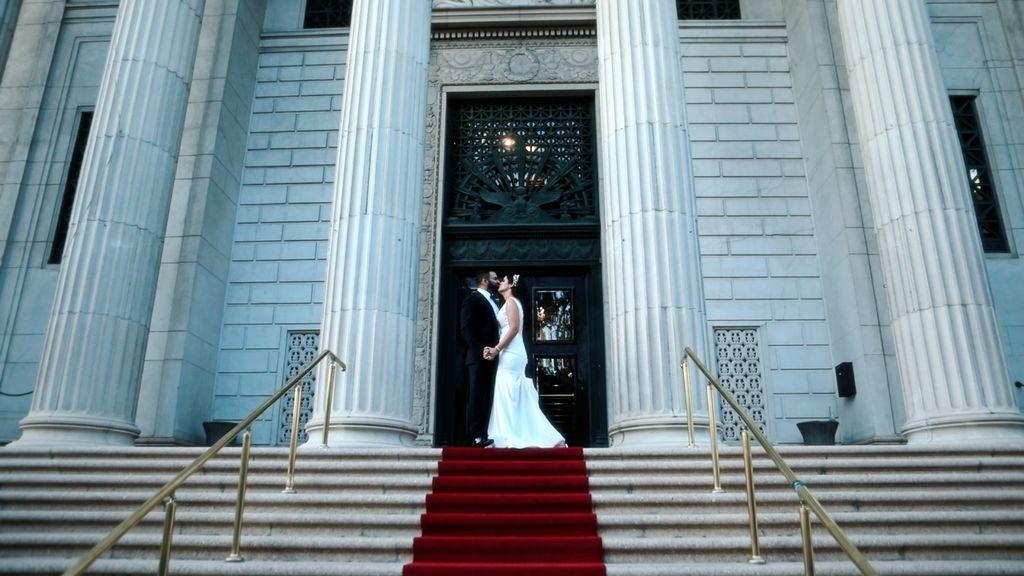 Wedding day story
