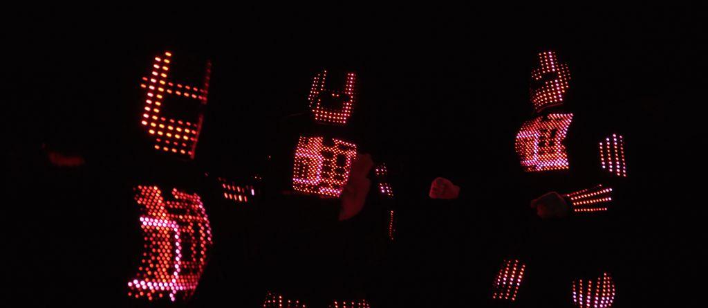 The Illuminated G's - LED Suit Hip Hop Dance Show