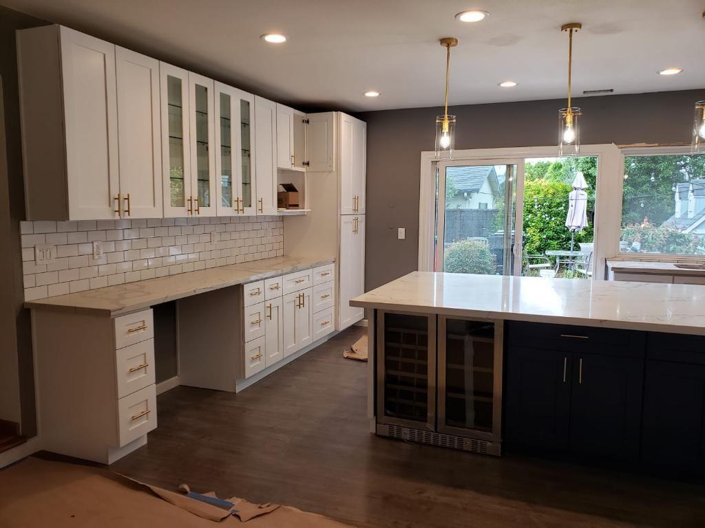 Open floor ,highland ,kitchen remodeling