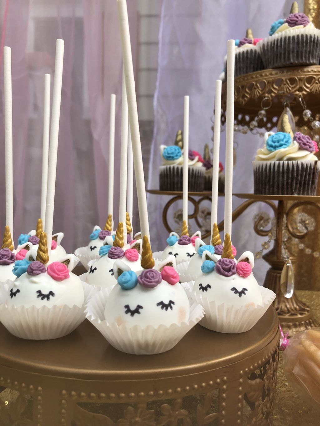 A unicorn birthday party for 200 guests