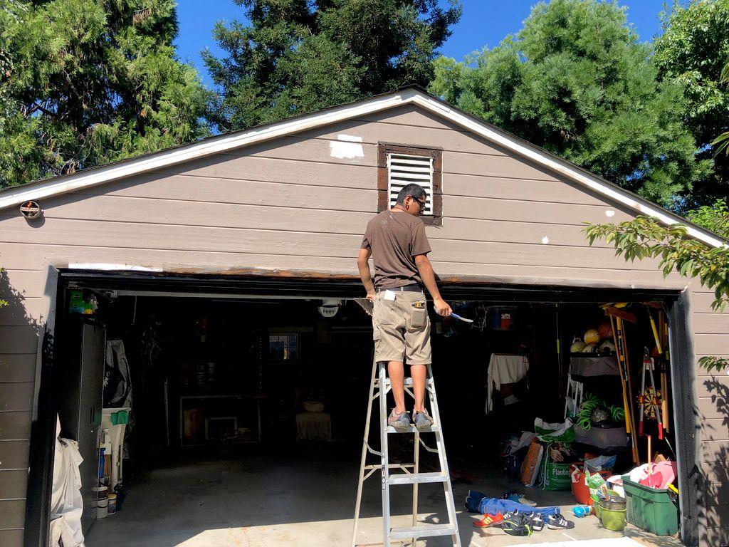 Exterior Painting & Trim replacement