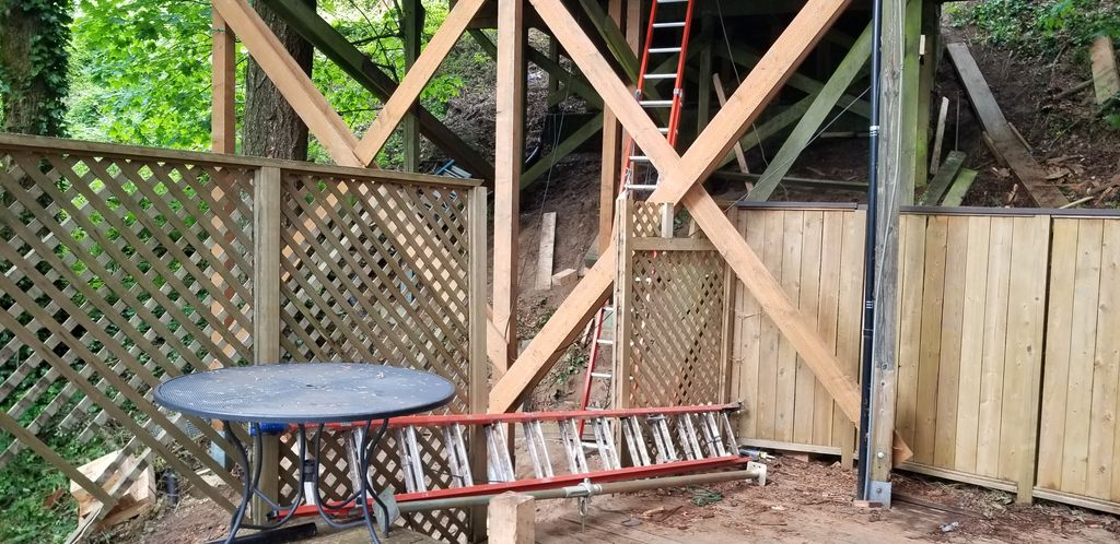 Stilt Structure Post and Beam Replacement