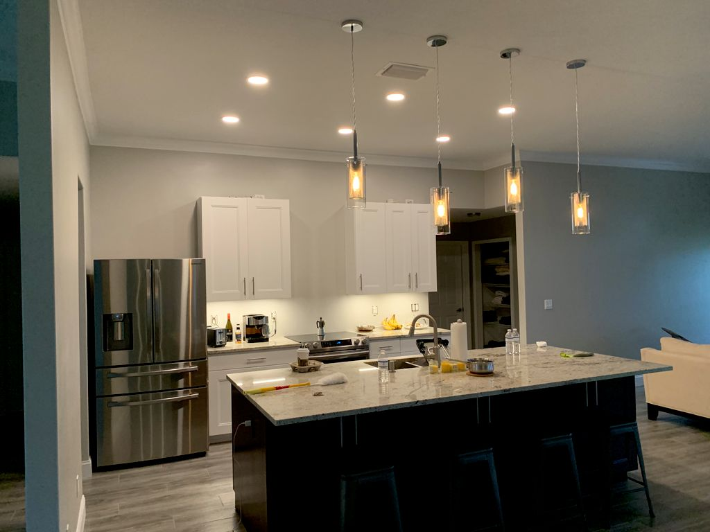 Kitchen remodel electrical