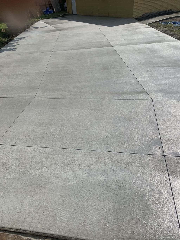 Sidewalk & Driveway