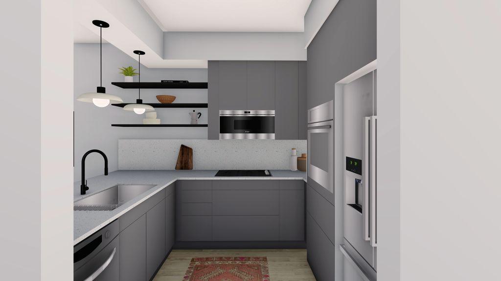 Kitchen Condo Reno
