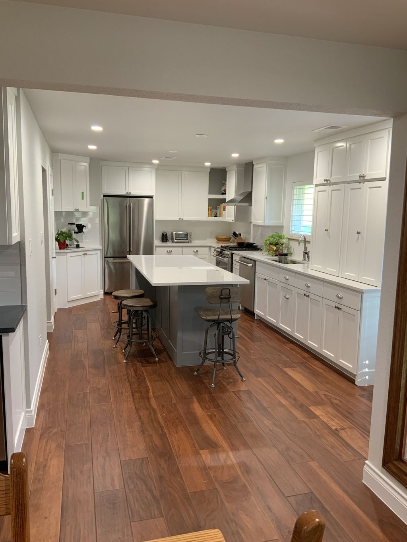 New Kitchen, New Engineered Hardwood