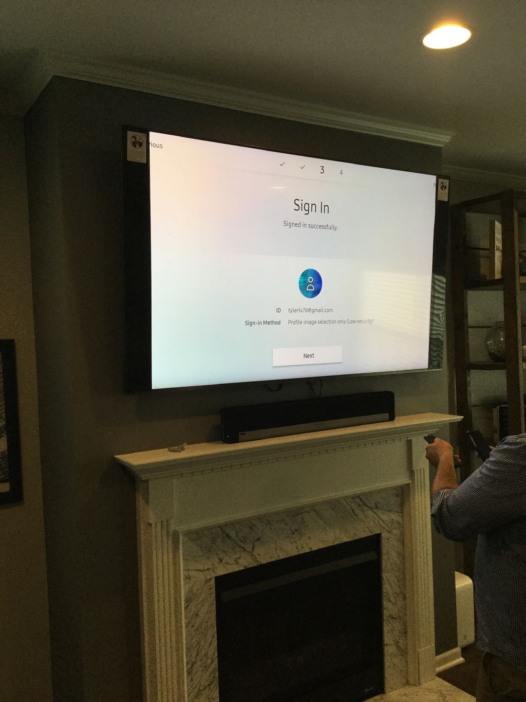 TV delivery and TV mounting service