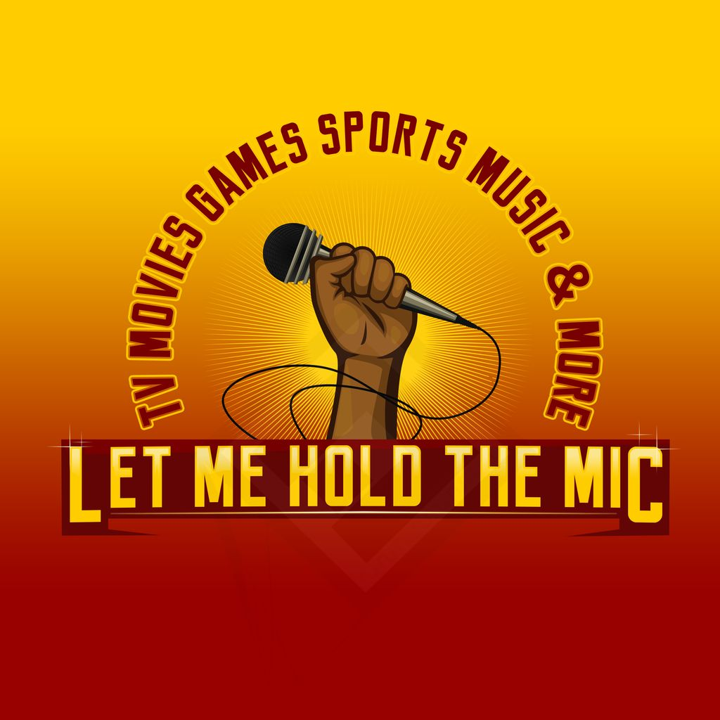Let me hold the mic Logo