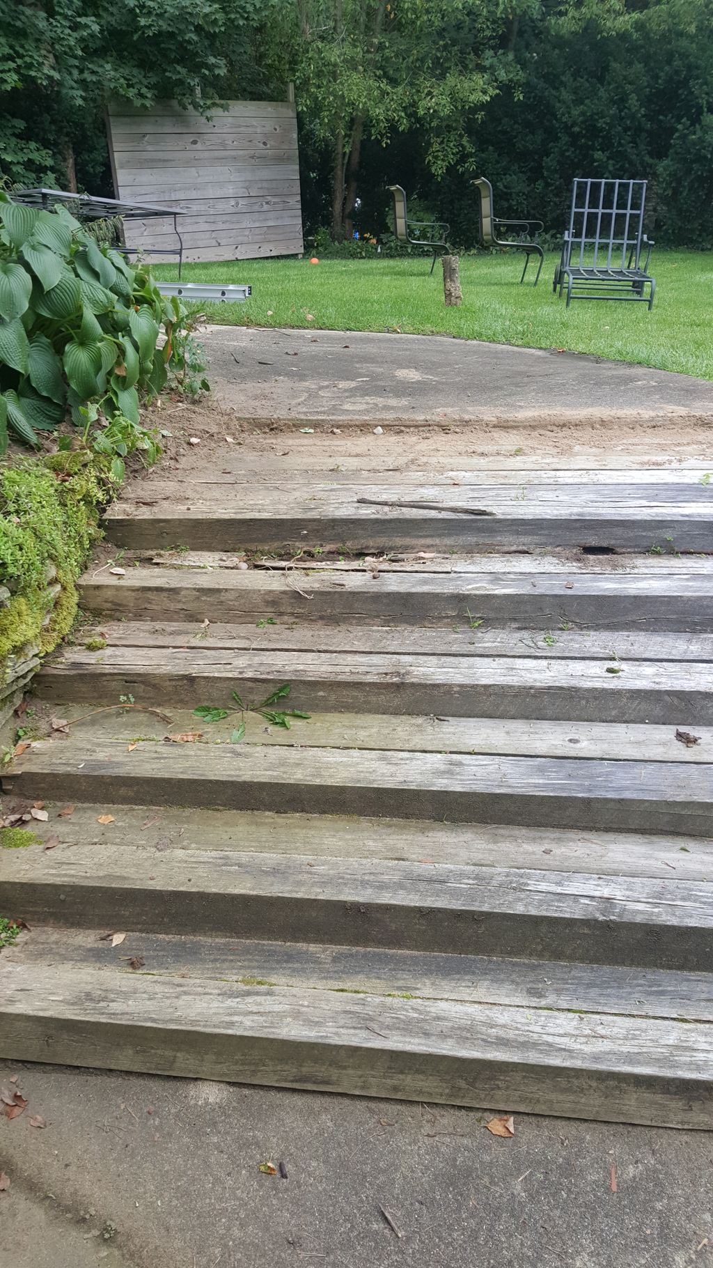 Replace stairs