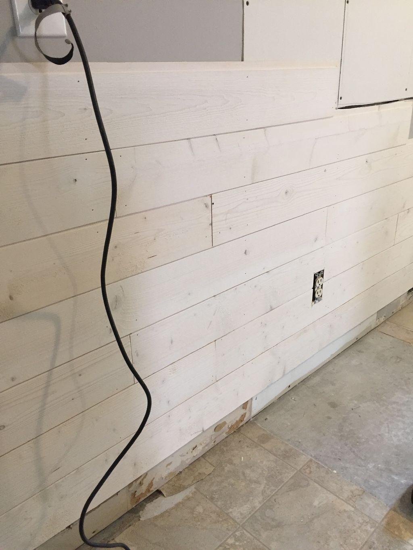 Ship lap wall trim