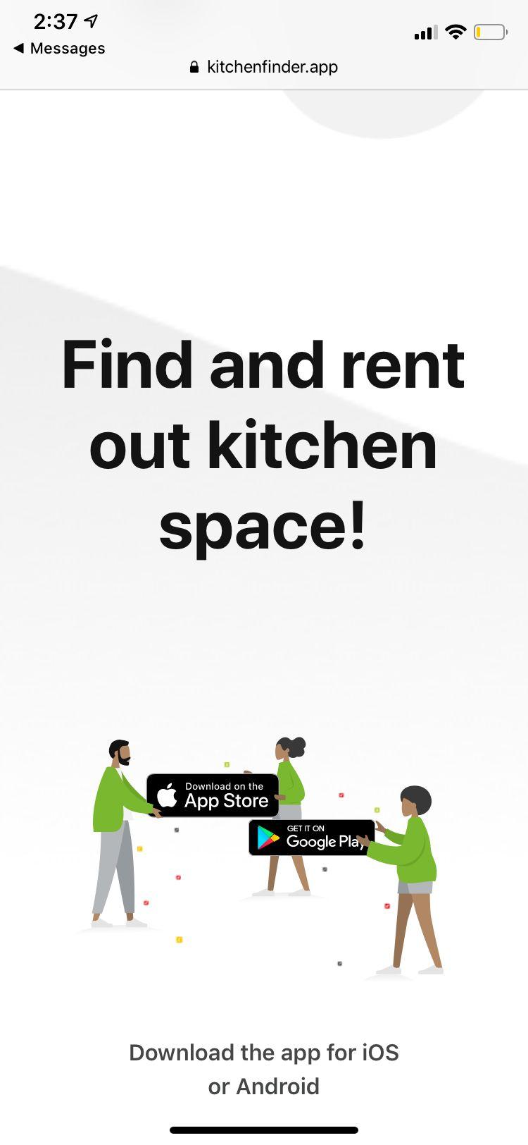 Kitchen Finder