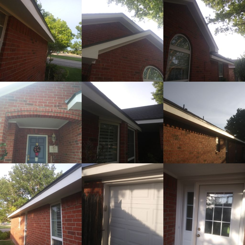 Fascia and Soffit Repair and Paint