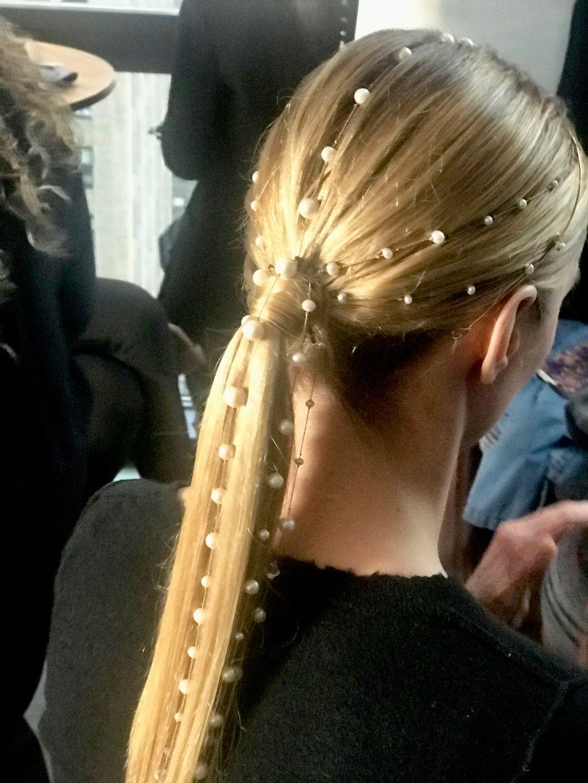 NY Bridal Fashion show Hair&Makeup