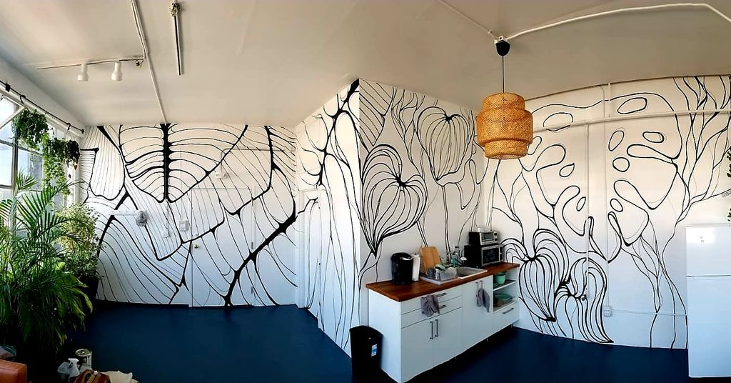 Plant Therapy HQ mural