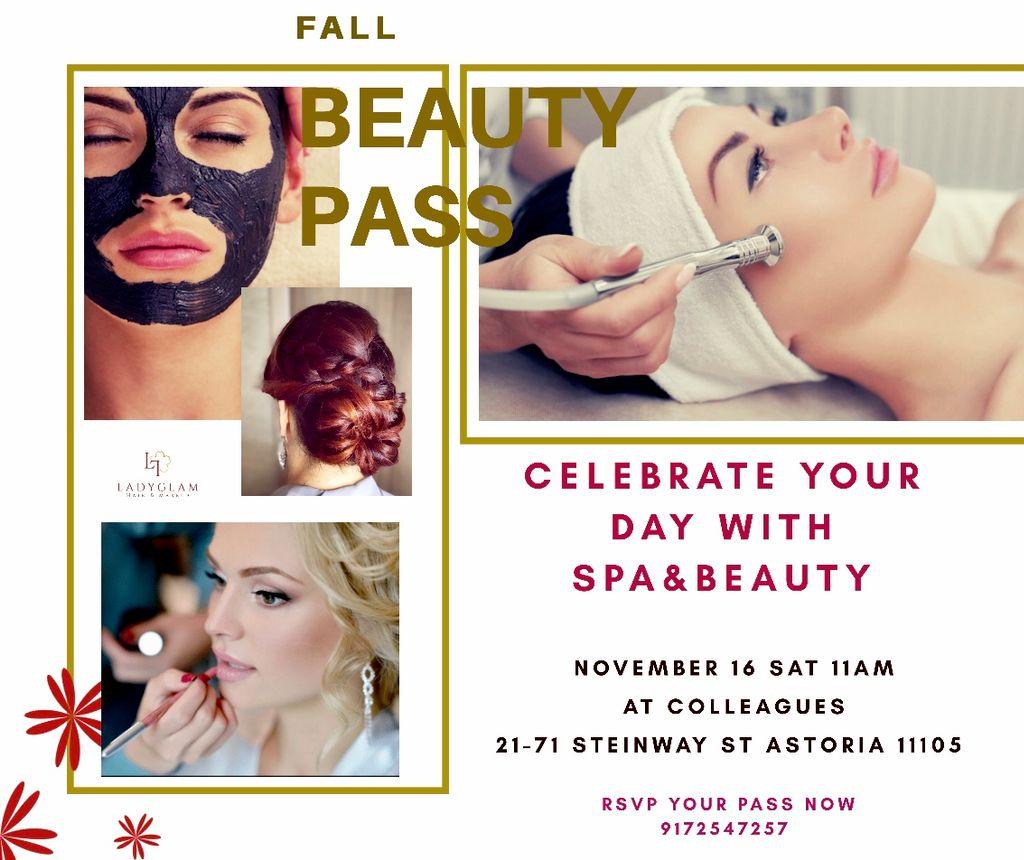 - Fall Spa and Beauty - NOV 16 2019 Sat -